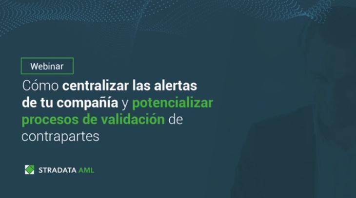 Centralizar las alertas de tu compañía - Webinar Stradata
