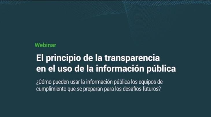 Uso de la información pública - Webinar Stradata