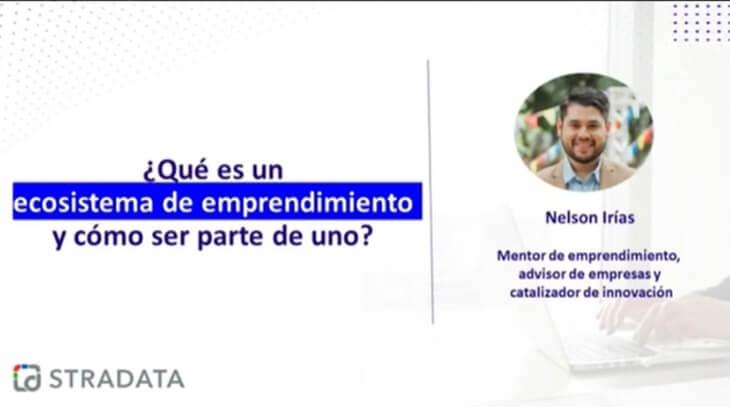 Ecosistema de emprendimiento - Webinar Stradata